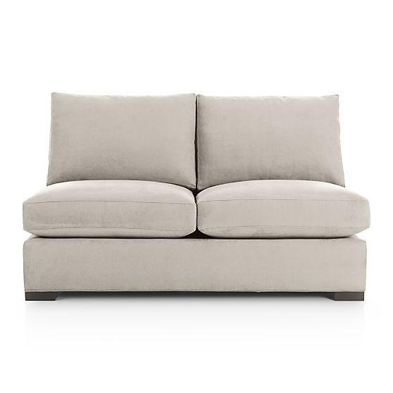Axis Ii Armless Full Sleeper Sofa Ice Crate And Barrel