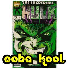 THE INCREDIBLE HULK / HIT AND MYTH / MARVEL COMICS VOL 1 #379 MARCH 1991 / OobaKool Comics