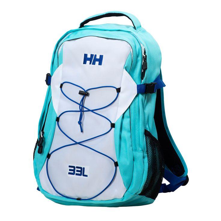 Helly Hansen Dublin Aqua Marine  33 literes hátizsák.Világos-kék / fehér színben.