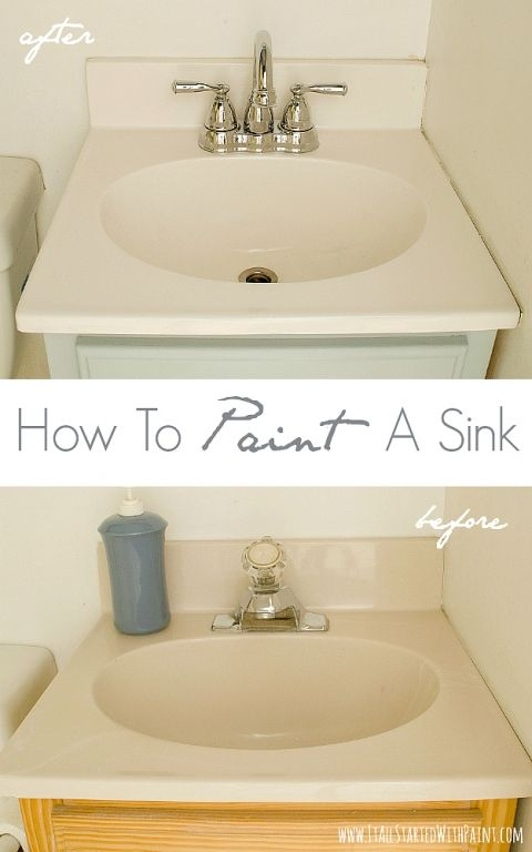 painting bathroom sink best 25 painting bathroom sinks ideas on diy 13913