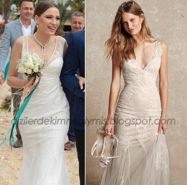 Medcezir - Mira (Serenay Sarıkaya), Monique Lhuillier Wedding Dress