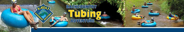 Kauai Backcountry Adventures – One-of-a-Kind Plantation Tubing Adventure. Doing this on my next Hawaii vacation!