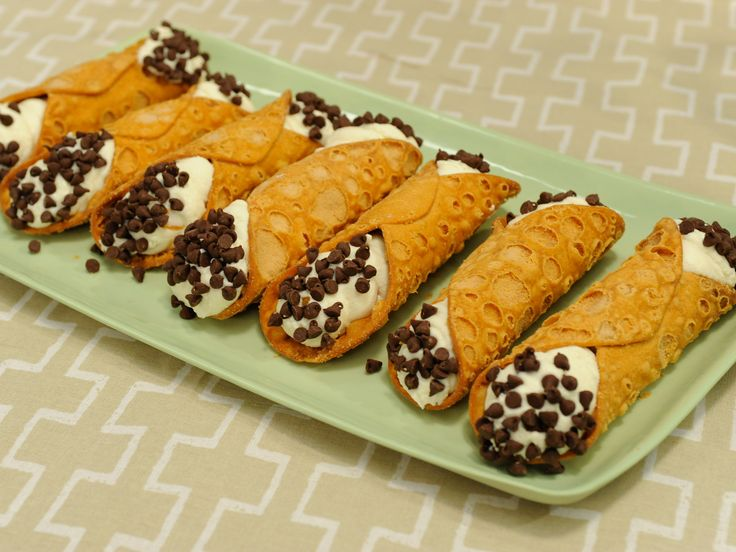 Homemade Cannoli Recipe : Laura Vitale on The Kitchen. Food Network - FoodNetwork.com