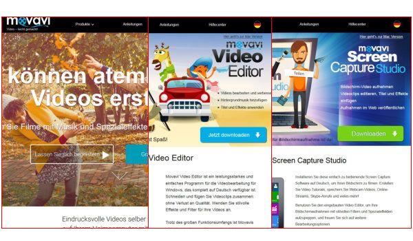 3 gute und günstige Videosoftware von Movavi für Bildschirmaufnahme und Videobearbeitung #videosoftware #movavi #bildschirmaufnahme #videobearbeitung