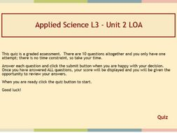 Applied Science Puzzles & Graded Quiz by Kazg1 - Teaching Resources - Tes