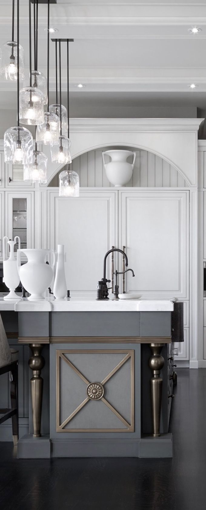 668 best Kitchens images on Pinterest   Beautiful kitchen, Beautiful ...