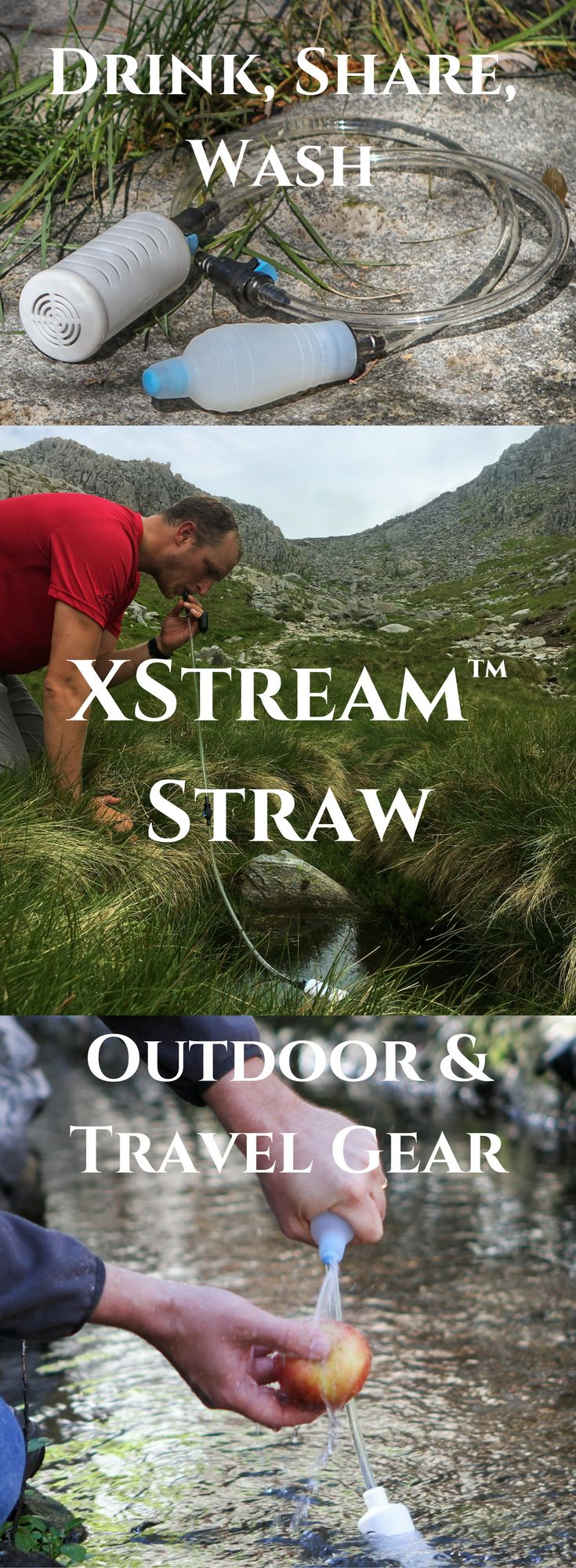 The best gear for all your outdoor and travel adventures. We've answered all your questions about the best water filter straw. Check this out and see why it's time to get XStream™
