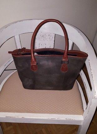Kaufe meinen Artikel bei #Kleiderkreisel http://www.kleiderkreisel.de/damentaschen-and-rucksacke/handtaschen/160323622-vintage-ledertascheshopper-von-jack-kinsky-hamburg-sehr-edel-neu
