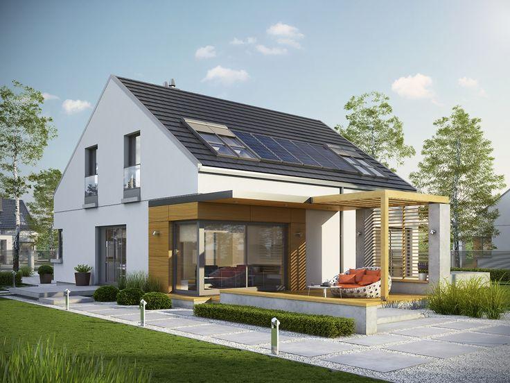 DOM.PL™ - Projekt domu AC Edgar II G2 ENERGO CE - DOM AF6-70 - gotowy projekt domu