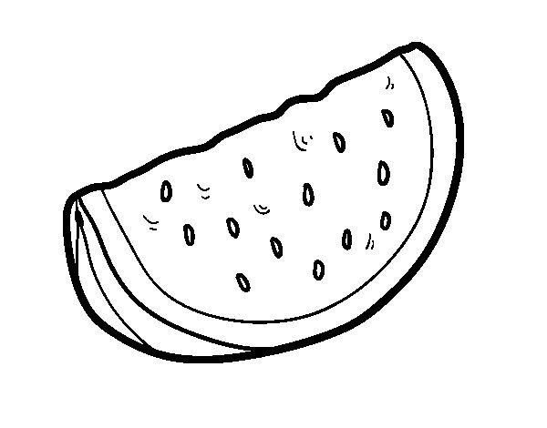 Sandia Para Colorear Coloring Pages Color Desktop Pictures