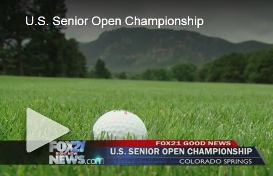 News article & video for The Broadmoor's hosting of the 2018 US Senior Open chaired by former Denver Bronco, John Ellway