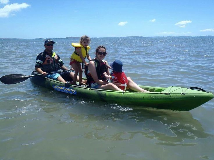 A fun filled kayak experience with family  http://www.vikingkayaks.co.nz/