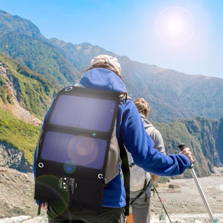 32.18$  Buy here - 5V 2.33A 14W Solar Panel Charger Dual USB Ports Foldable Waterproof Solar Chargers Solar Battery Charger for hiking L3FE   #magazine