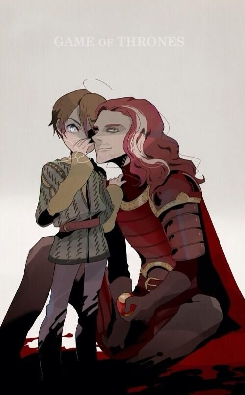 Aria y Jaqen H'ghar