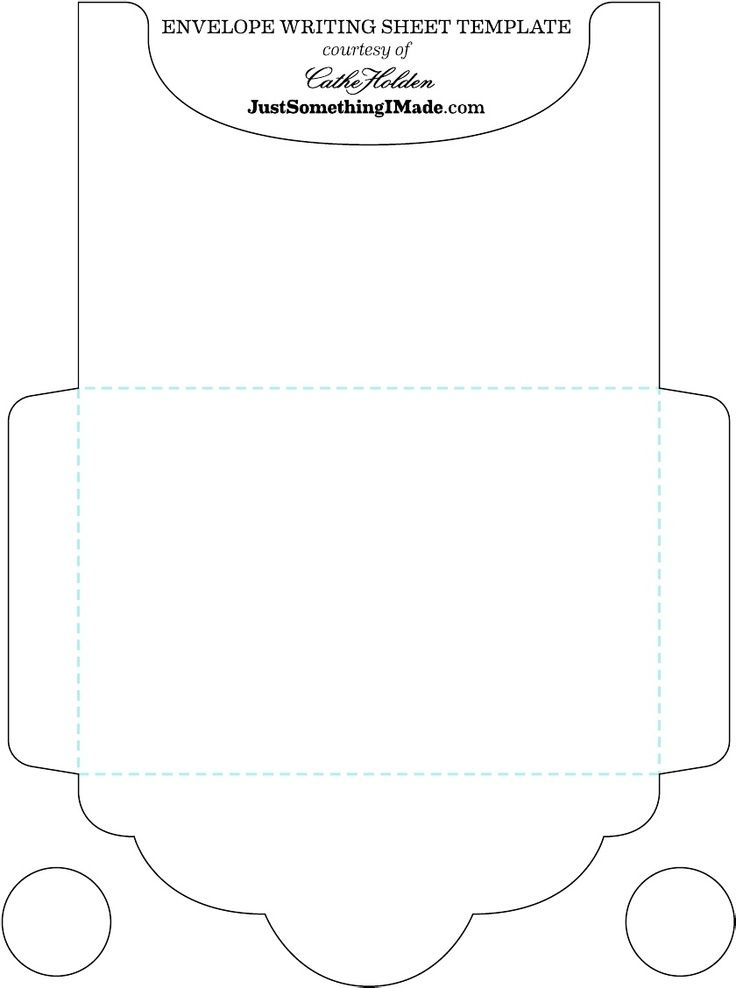 Best Envelope Templates Paper Images On   Envelopes