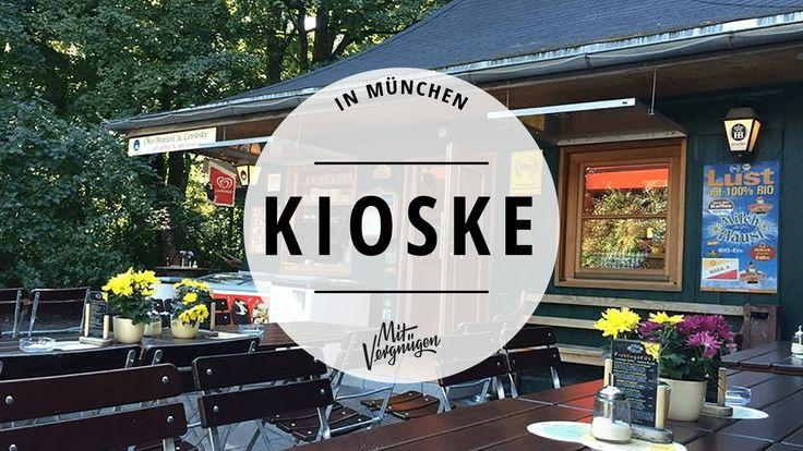 Kioske, Büdchen, Wasserhäuschen. Egal, wie man sie nennt. In München sind sie Mangelware. Wir haben unsere 11 Kiosk-Favoriten gesammelt.