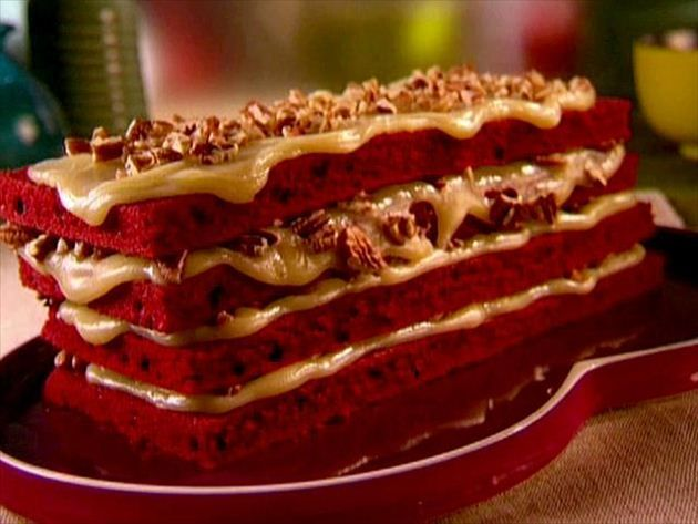 Grandma's Red Velvet Cake : Recipes : Cooking Channel Recipe | Sunny Anderson | Cooking Channel
