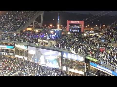Seahawks vs 49ers 1/19/2014 Macklemore Halftime Show FULL NFC Championship Game - YouTube