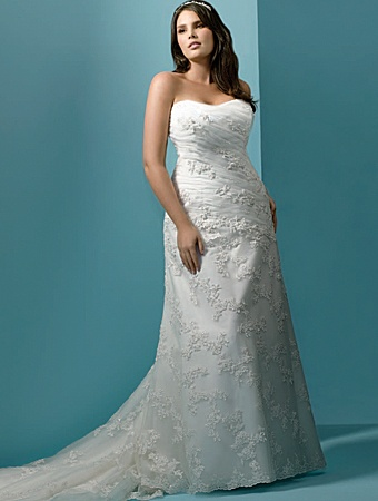 Great full figured wedding dresses