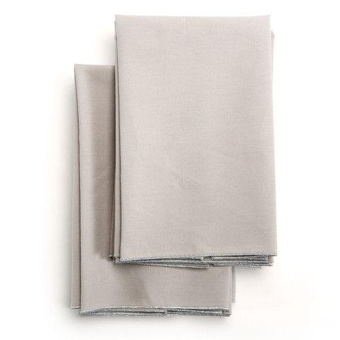 Spun in Silver Tea Towel: Grey – Amanda Hamilton Home Accessories
