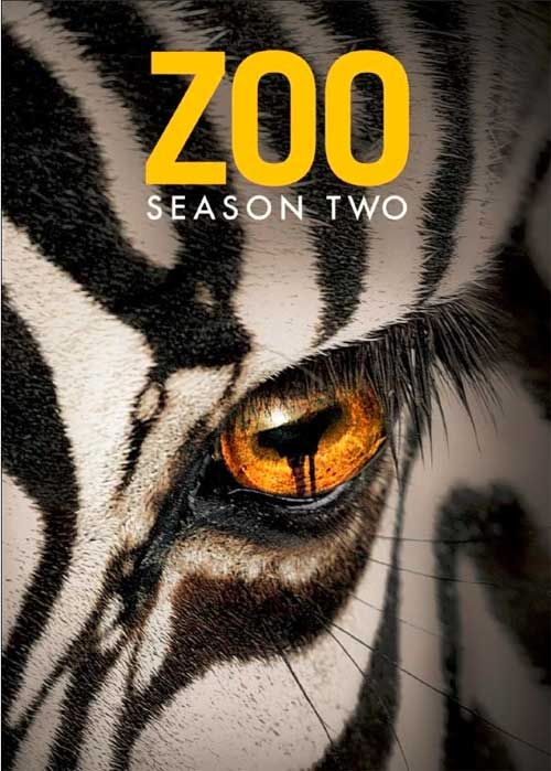 Zoo Season 2 (TV Series - Zoo). Animals have been hunted, enslaved, and slaughtered by humans for millennia...now it's their turn! What started as a string of animal attacks has evolved into a global war between beast and man, but when maverick zoologist Jackson Oz and his team uncover a secret plan to exterminate all wildlife on the planet, they learn that humans are still the most dangerous animal of all.