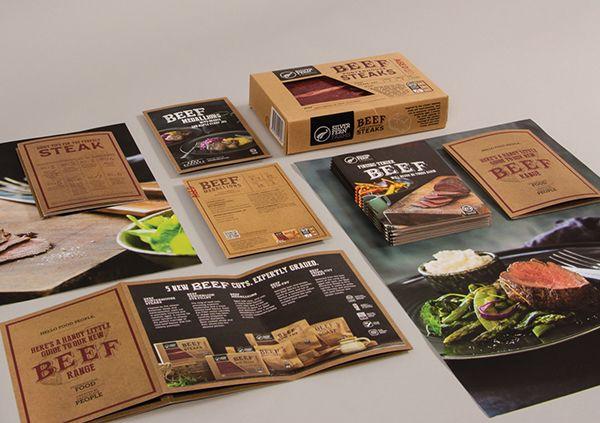 Silver Fern Farms Beef Packaging by Matt Hammond, via Behance