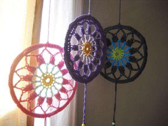 Para armonizar y decorar tu hogar. Ideal para colocar en ventanas y/o paredes Tejidos en hilo puro de algodón o lana merino con soporte y accesorios ...