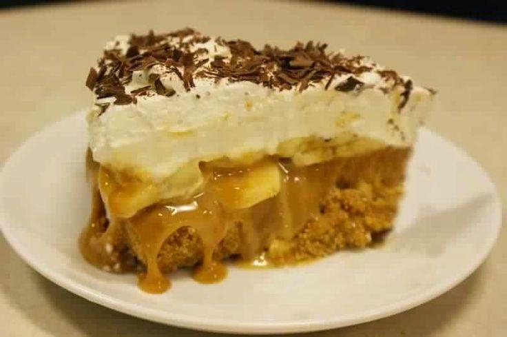 Slimming recipe: banoffee pie