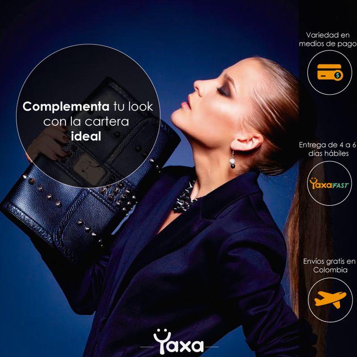 Diseño para Yaxa.co #Bolsoscampaña