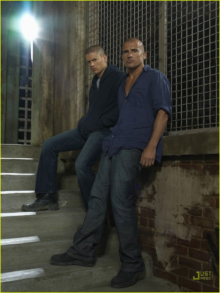 Prison Break Photographs | ... Dominic Purcell, Prison Break, Wentworth Miller Photos | Just Jared
