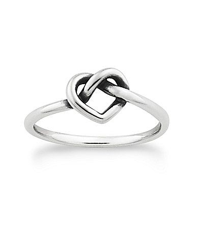 James Avery Delicate Heart Knot Ring #Dillards