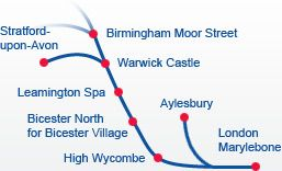 Chiltern Railways - Cheap train tickets & UK train times, timetables & fares