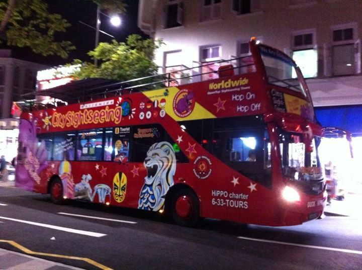 hop on hop off bus singapore