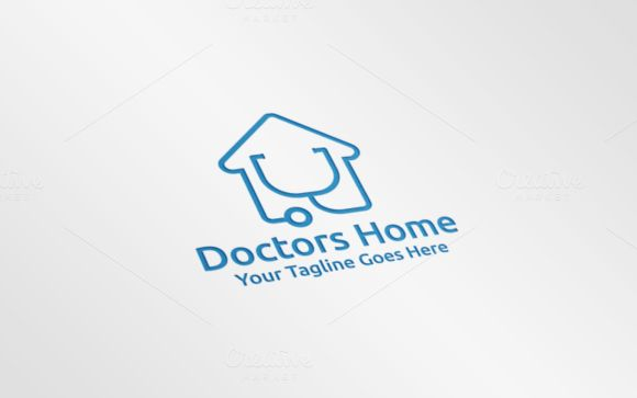 Doctors Home Logo by REDVY on Creative Market