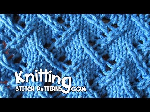 Watch this video to learn how to knit the Zig Zag Lace ...