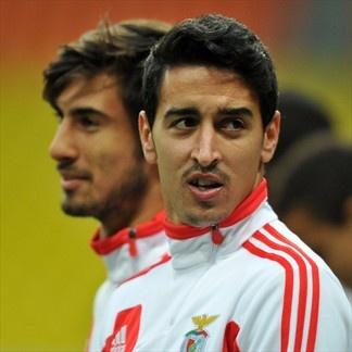 Andrés Gómez & Andrérs Almeida Benfica. | Spartak Moskva 2-1 Benfica. 23.10.12.