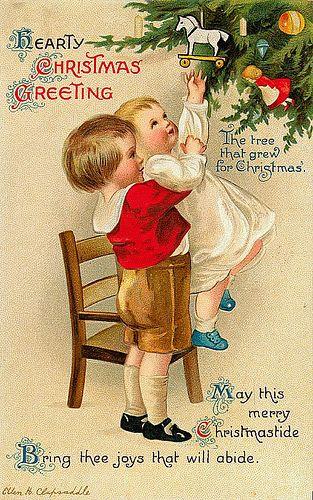 .: Vintage Postcards, Vintage Christmas Cards, Christmas Postcards, Clapsaddl Christmas, Hearti Christmas, Christmas Greeting, Christmas Decor, Merry Christmas, Vintage Cards