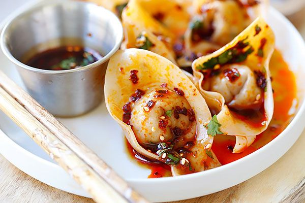 Sichuan Red Oil Wontons - maybe these are like the ones at Szechuans restaurant here in abilene! mmmmm