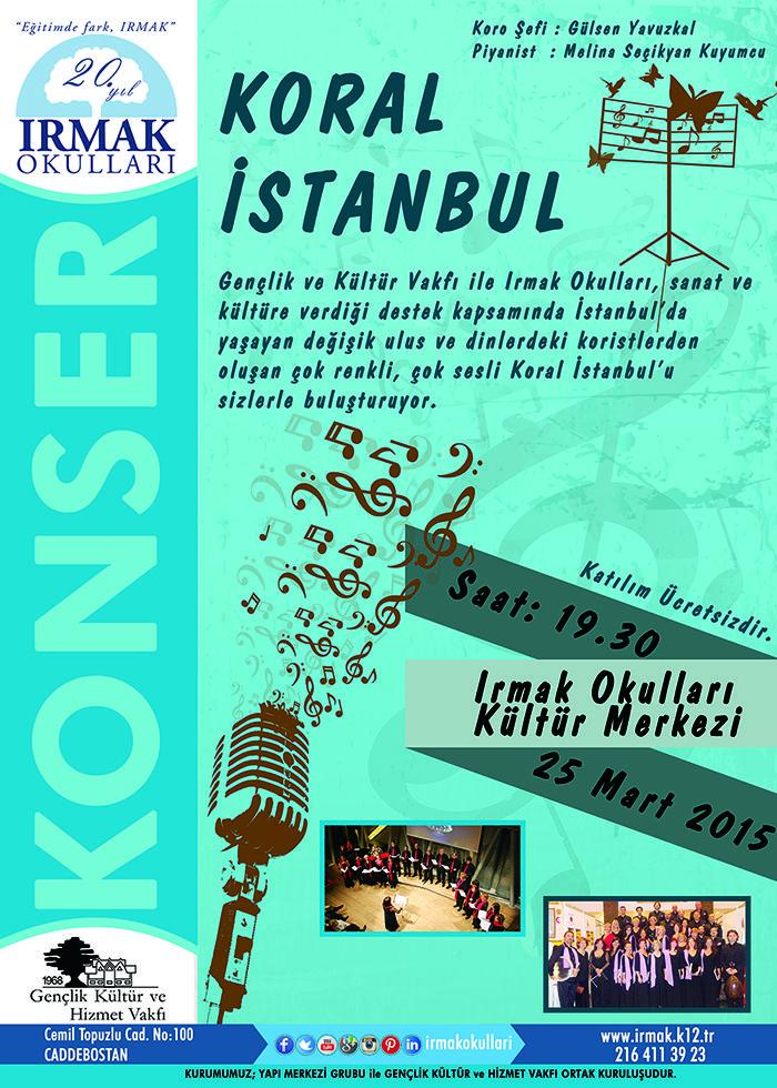 Koral İstanbul Konseri