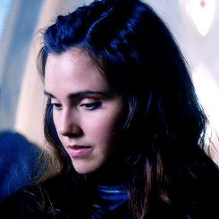 Poppy Drayton as Amberle - I love her for her super expressive face