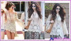 Blusa em Crochê Selena Gomez - Gráfico e Tutorial em Vídeo