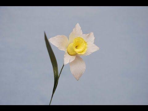 Нарцисс для букета из конфет. Narcissus of sweets - YouTube