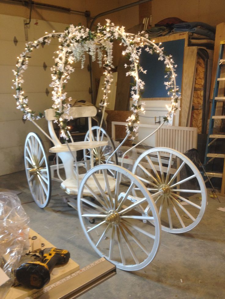 Building Cinderella's Carriage, www.greenfieldwoodworks.com