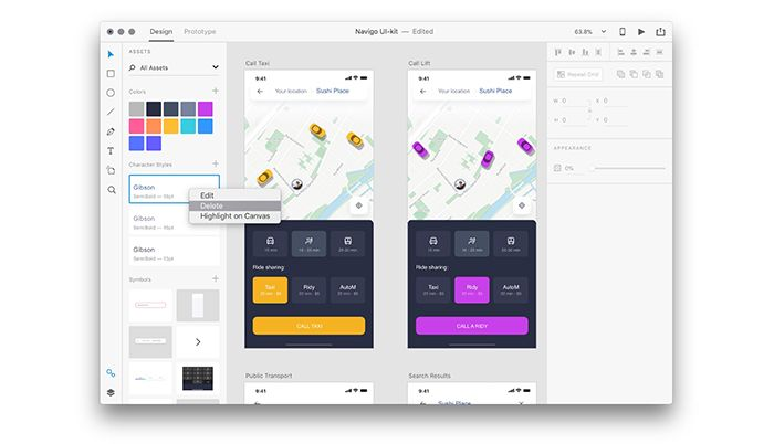 Working With The Assets Panel In Adobe Xd Adobe Xd Adobe Design System