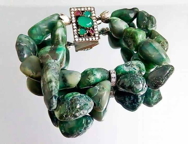 Orlov Jewellery-Smarade brute,rubin,argint