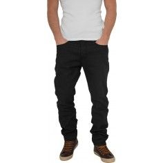 Urban Classics Loose Fit Jeans in Black Raw