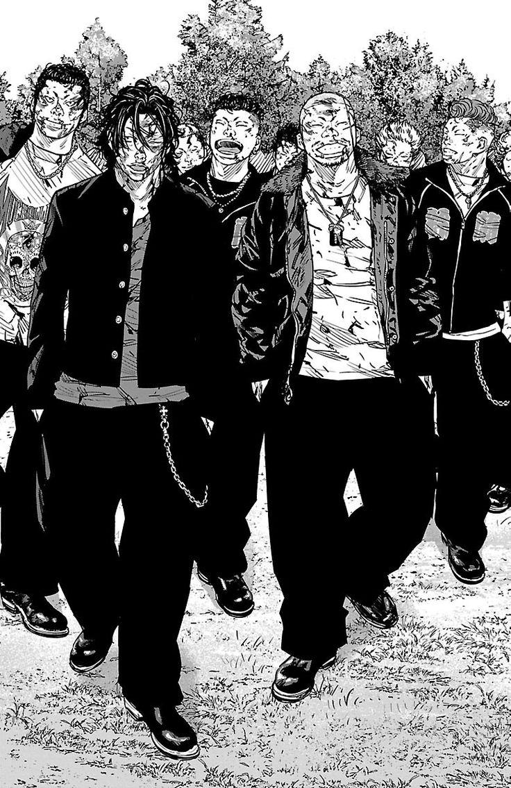 Crows Zero mangá Manga, Personagens de anime, Anime