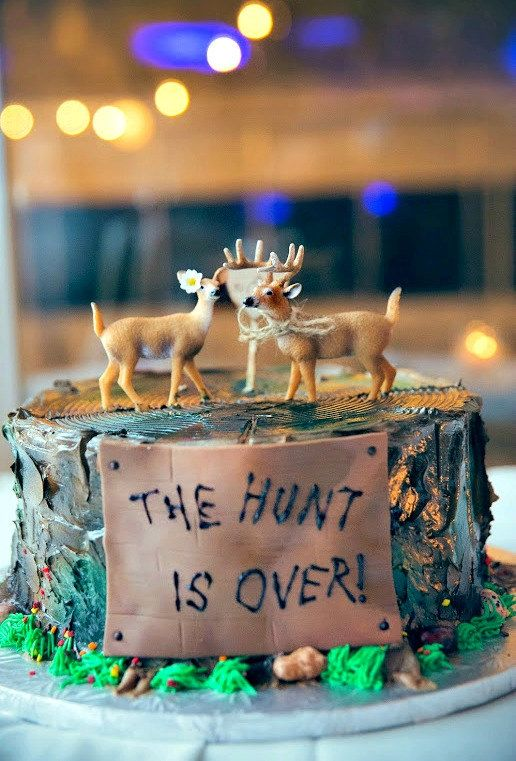 deer hunting-bride and groom-fall by MorganTheCreator on Etsy