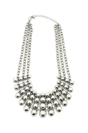 55$  Buy here - http://vijey.justgood.pw/vig/item.php?t=fd0ope12855 - Chunky Silver Necklace