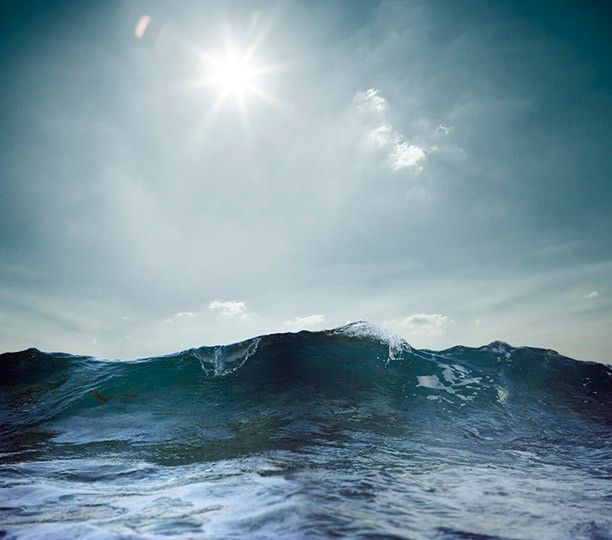 """Post-Typhoon Surf Wave, Amami-Oshima, Japan"" from the Series Water Brother"